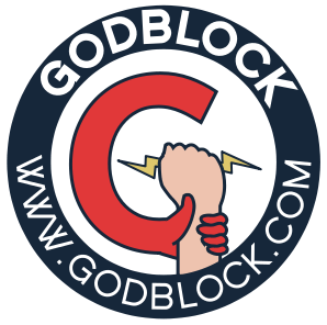 God Block Logo | marketplace christianity